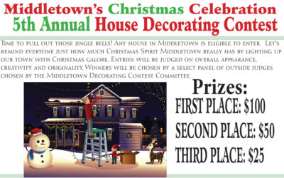 Middletown Christmas House Decorating Contest