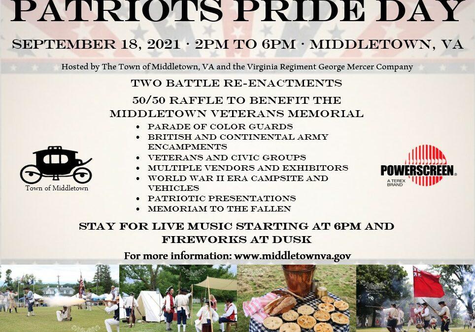 Patriot Pride Day